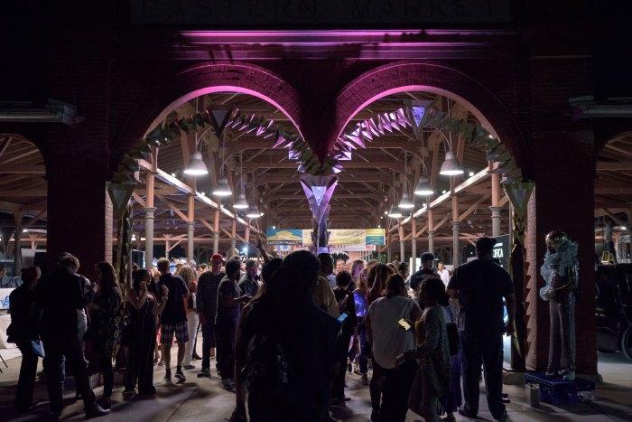 Detroit Design Festival's Community Events Eastern Market After Dark