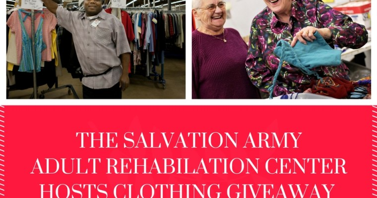 Community Event: The Salvation Army ARC to Host Clothing Giveaway