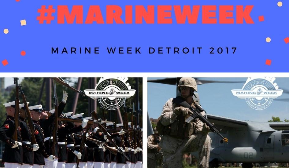 Marine Week Detroit: The Marines are Here!