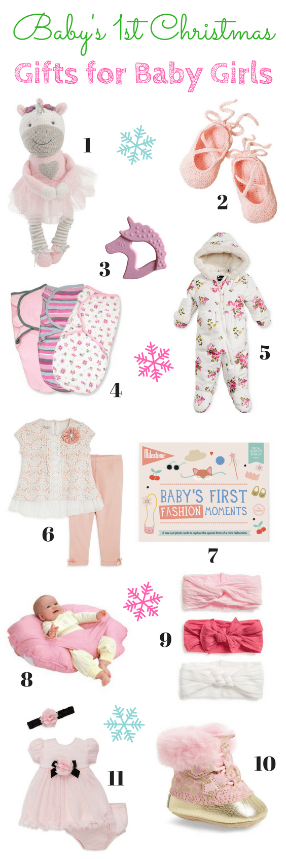 Gift Guide for Baby\'s First Christmas