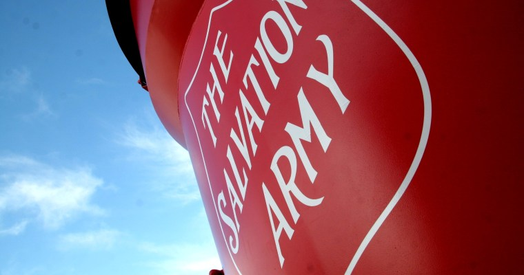Red Kettle Season for The Salvation Army Begins November 10th