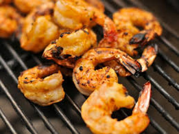 grilled roasted shrimp