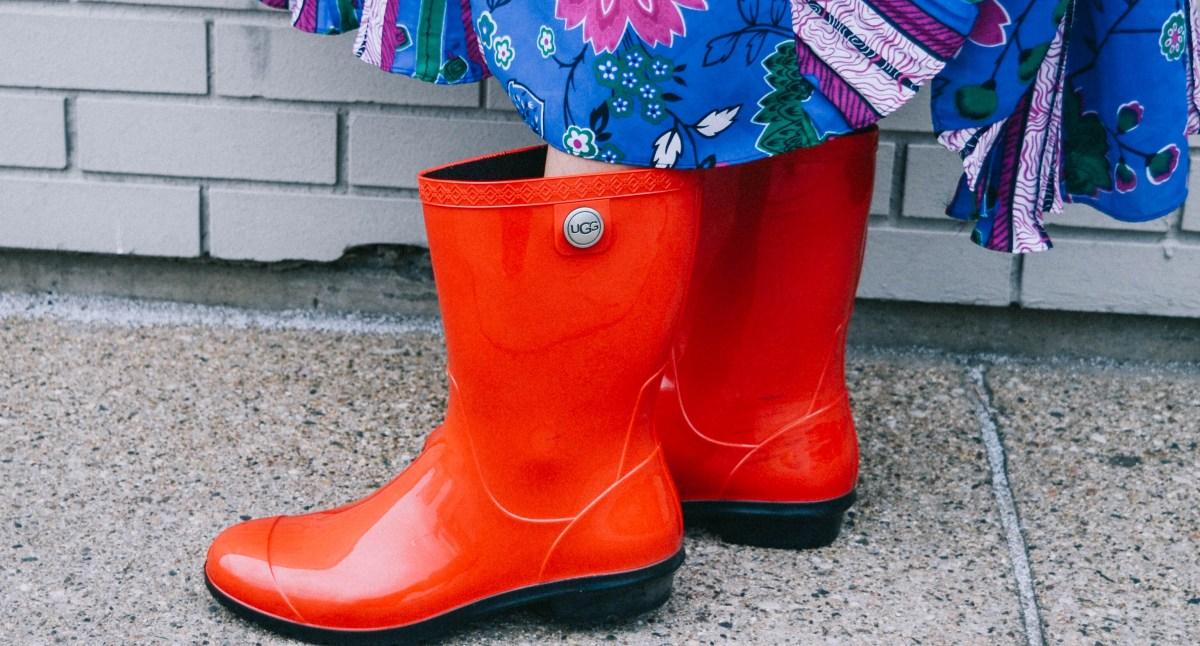 Fun, Stylish Rain Boots for a Rainy Day