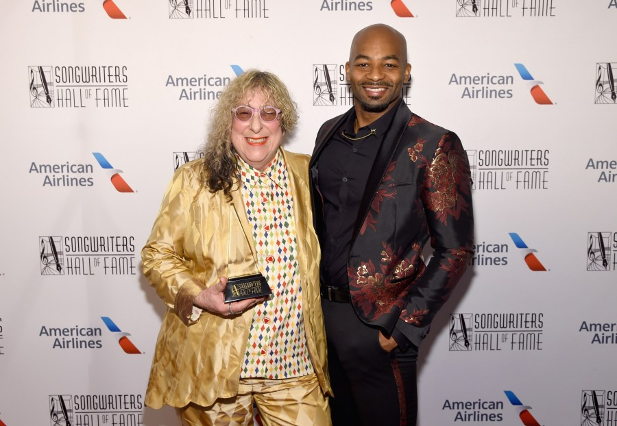 Allee Willis and Brandon Victor Dixon