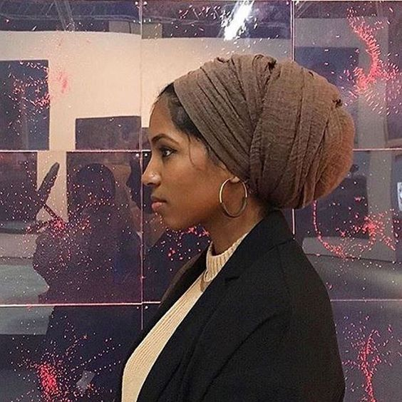 I'm loving all of these headwrap ideas! You can create many different headwrap styles with different types of material!