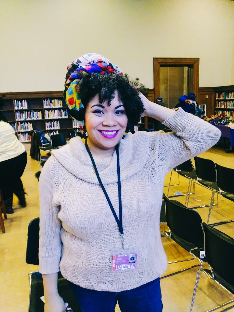 Headwrap styles for women. I attended a Detroit headwrapping workshop to learn more about how to headwrap different headwrap styles!