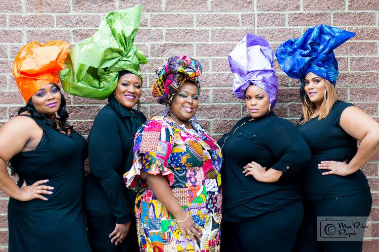 Wrapped In Love holds many headwrap workshops and teaches a variety of headwrap tutoritals!