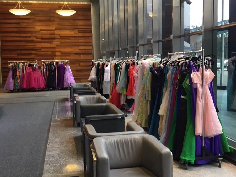 Hope Closet prom dress donations.