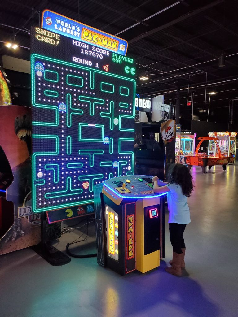 Pac-man game allegiant nonstop