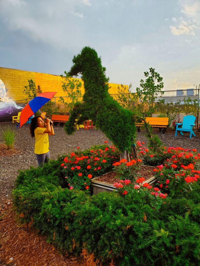 Detroit art park