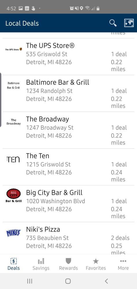 DFCUPerks App Detroit