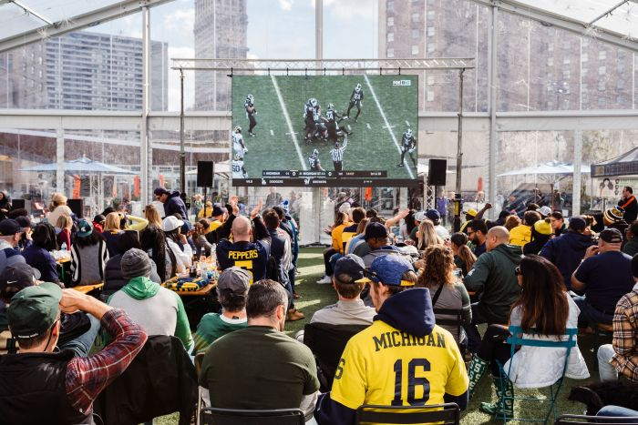 College and Lions Football Watch Parties Beacon Park Detroit