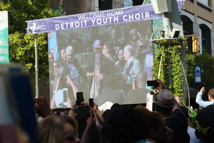 Detroit Youth Choir Homecoming