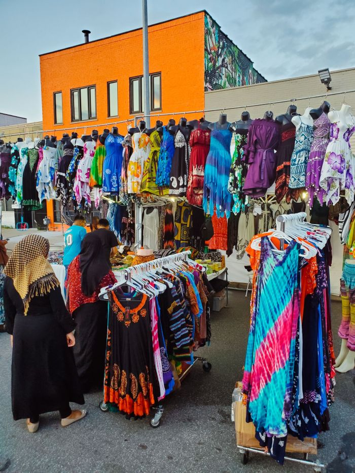 Detroit clothing vendors