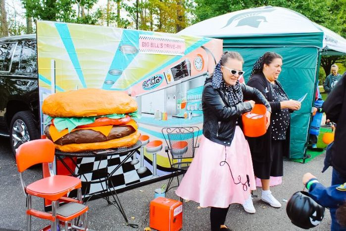 50s diner trunk or treat