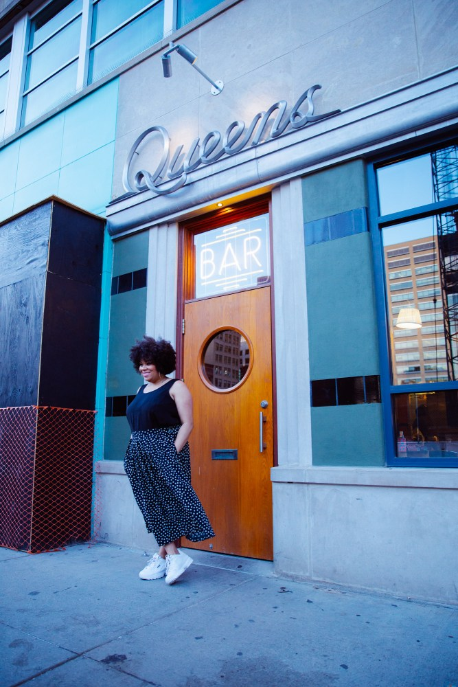 Detroit blogger Jennifer Hamra