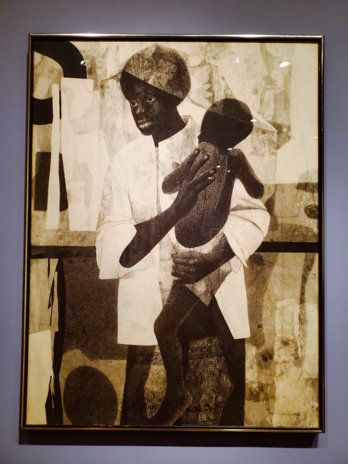 "African American Art: ""Mother and Child"" (1965) by Charles McGee"