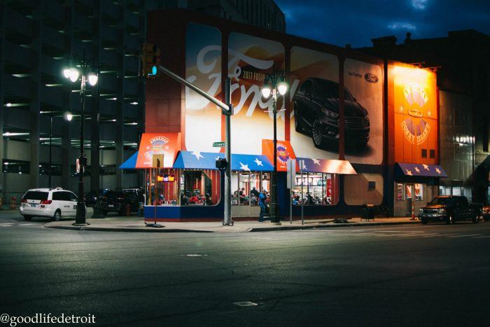 Detroit Photography: American Coney Island Downtown Detroit