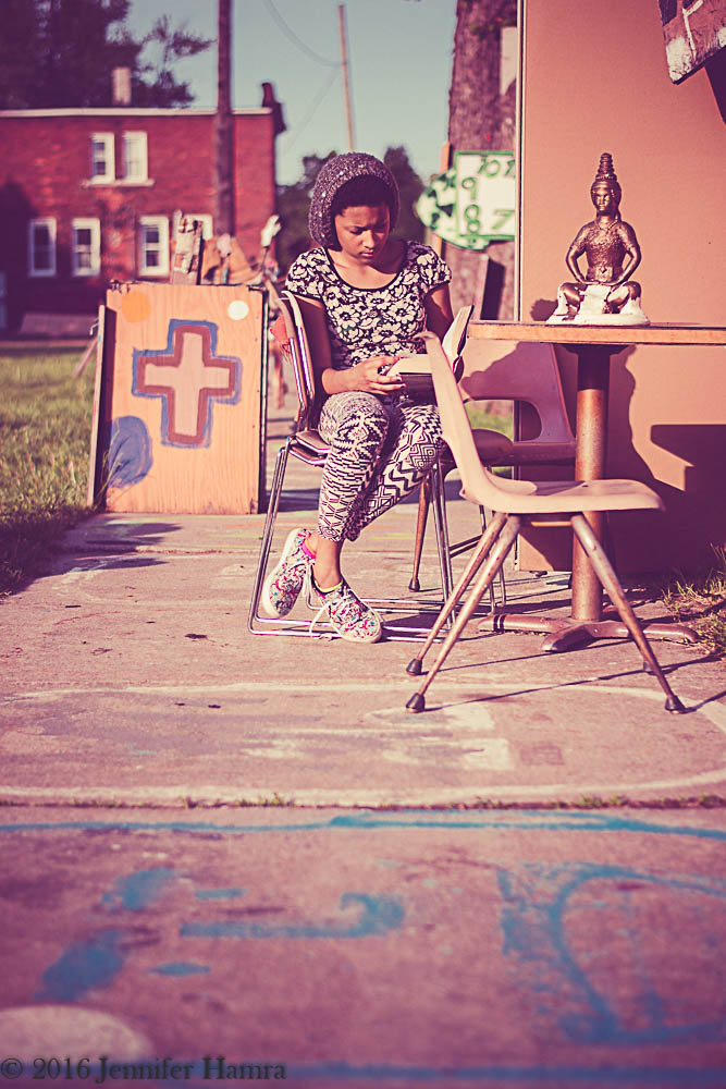 Detroit Photography: Heidelberg Project in Detroit, Michigan.