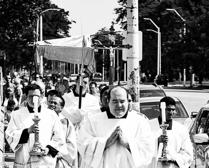 Detroit Photography: Corpus Christi Celebration in Detroit