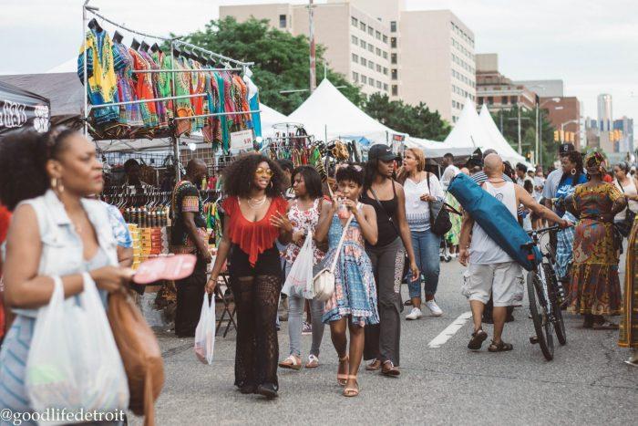 African Festival in Detroit, Michgian