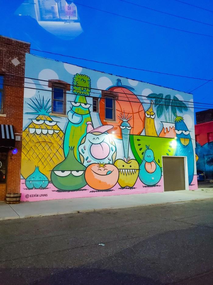 Kevin Lyons Detroit mural Eastern Market