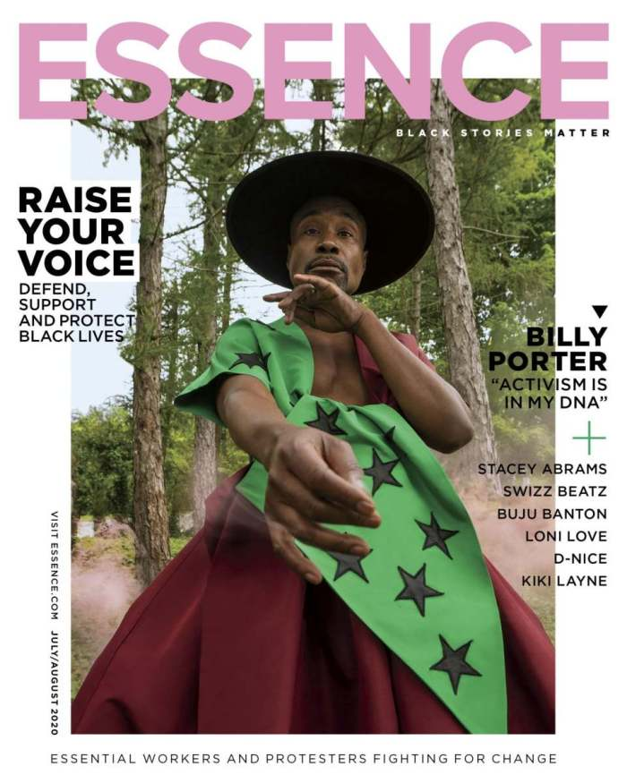 Billy Porter, Essence Magazine Cover