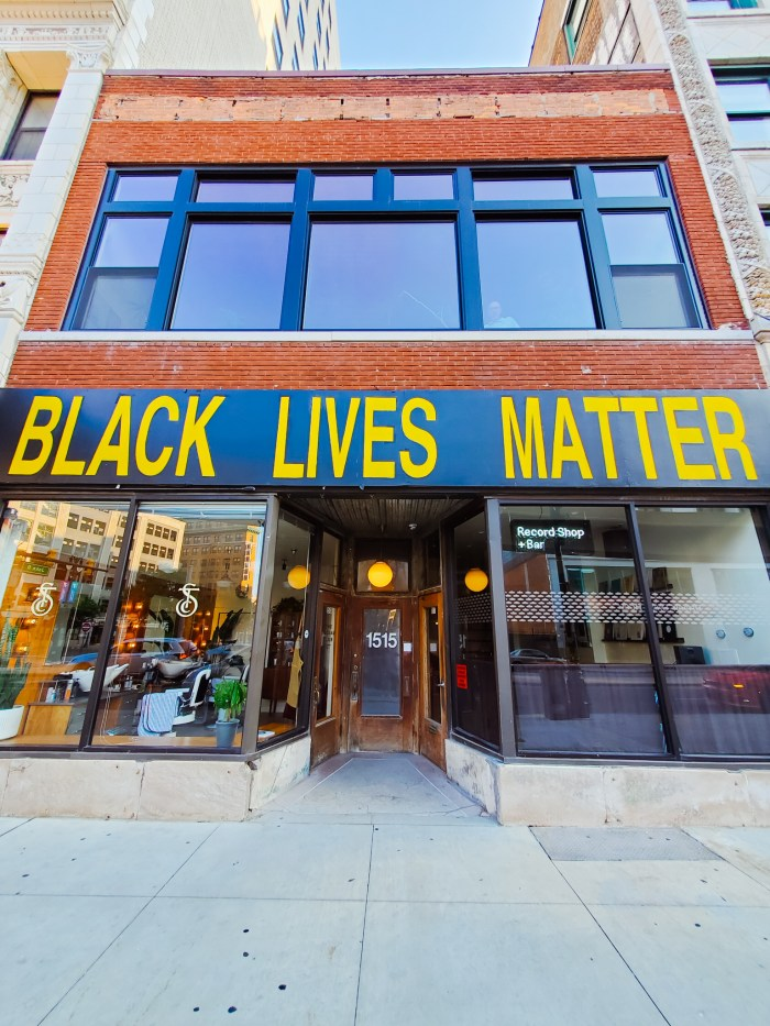 Black Lives Matter Downtown Detroit (The Social Club)