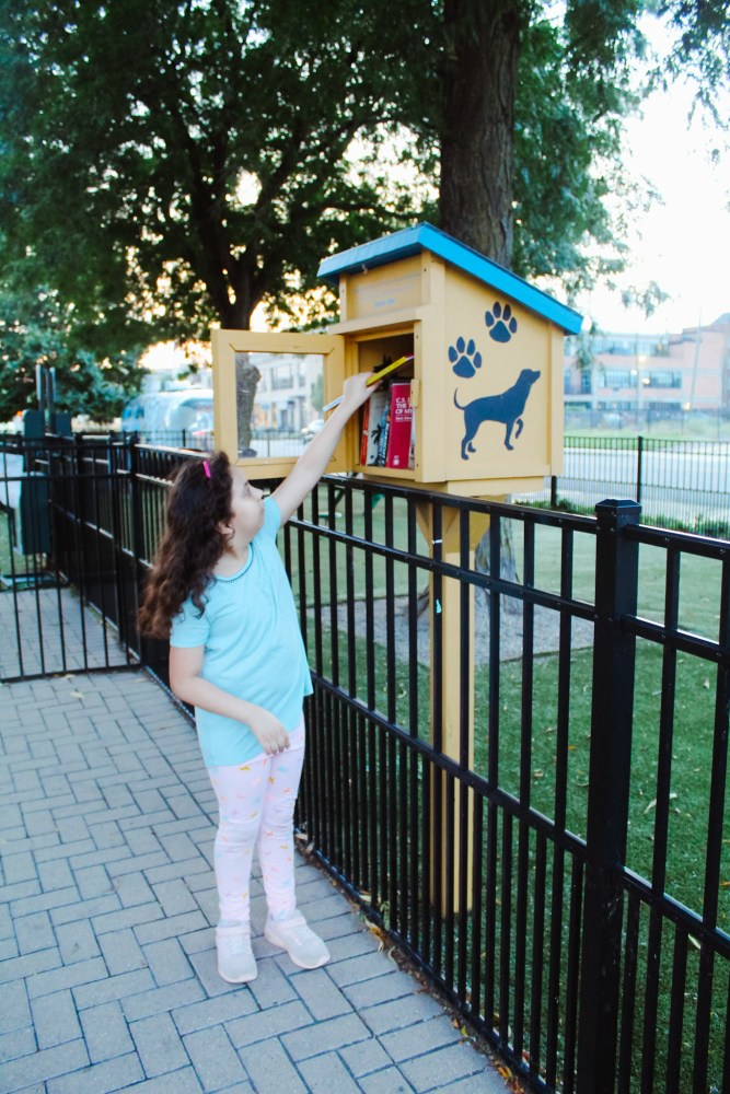 Little Free Library. Find children's books in unexpected places