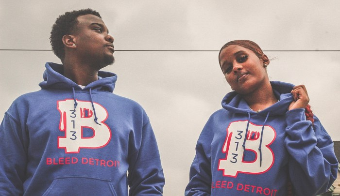 Detroit hoodien Bleed Detroit