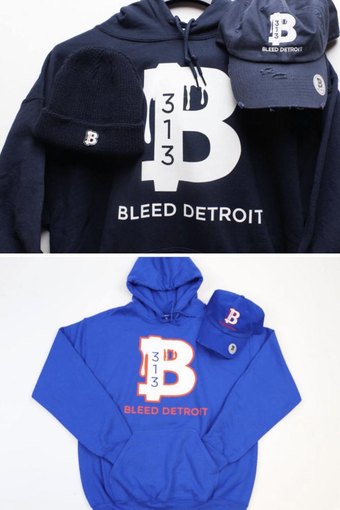Detroit hoodie Bleed Detroit