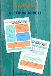 Free Printale Cleaning Bundle
