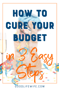 Is your budget out of control? Are you spending too much and not saving enough? Here's the cure!