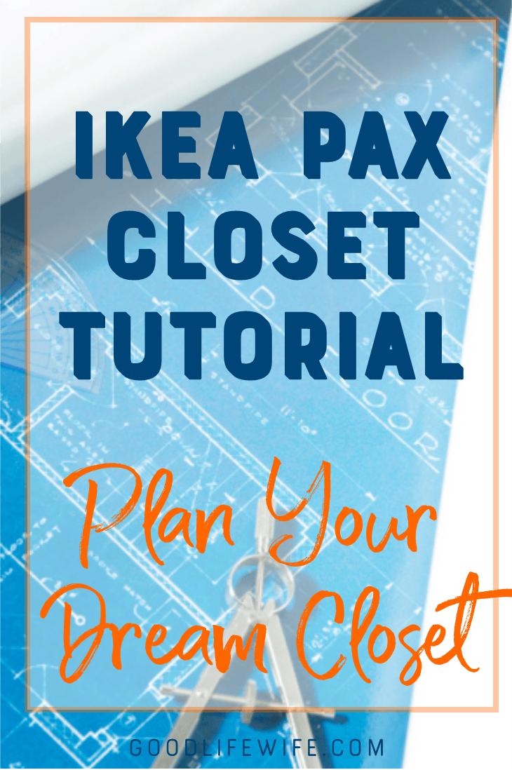 Plan your dream closet with this Ikea PAX tutorial!