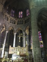 Alter of the Inside the Collegiate Church of Notre Dame de Dinant