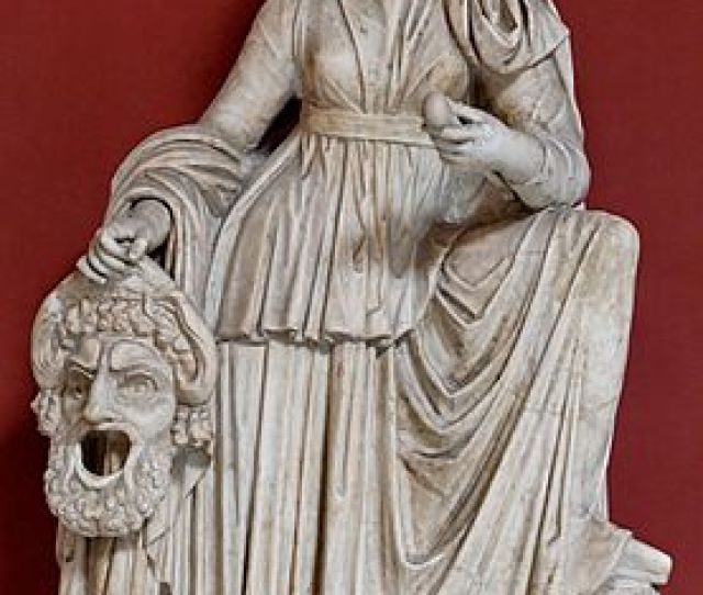 Melpomene Was The Muse Of Tragedy And The Fifth Of The Nine Muses Her Name Means Singer