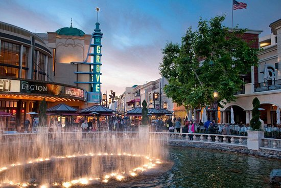 The Grove Shopping Center - 10 Cool Places to Visit In the Hollywood City of Los Angeles