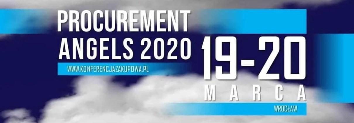 KONFERENCJA ZAKUPOWA 2020 PROCUREMENT ANGELS WROCLAW FORUM ZAKUPOW