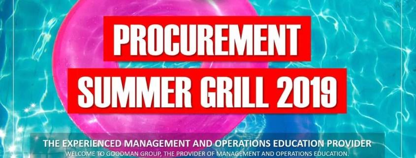 procurement summer grill-szkolenia zakupowe konferencja zakupowa poznan