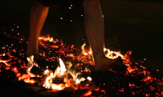 Fire Walking Taking A Quantum Leap Of Faith
