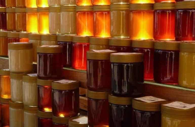 gambar madu dalam toples siap jual