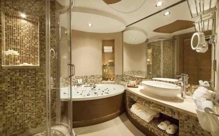 Desain kamar Mandi Rumah Mewah Modern