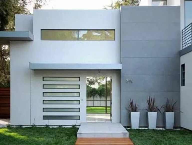 Exterior Rumah Minimalis Sederhana