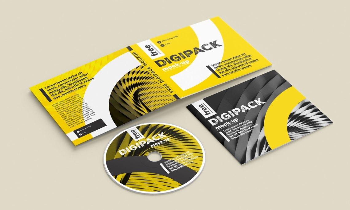Download Free CD / DVD Case & Booklet Mockup PSD - Good Mockups