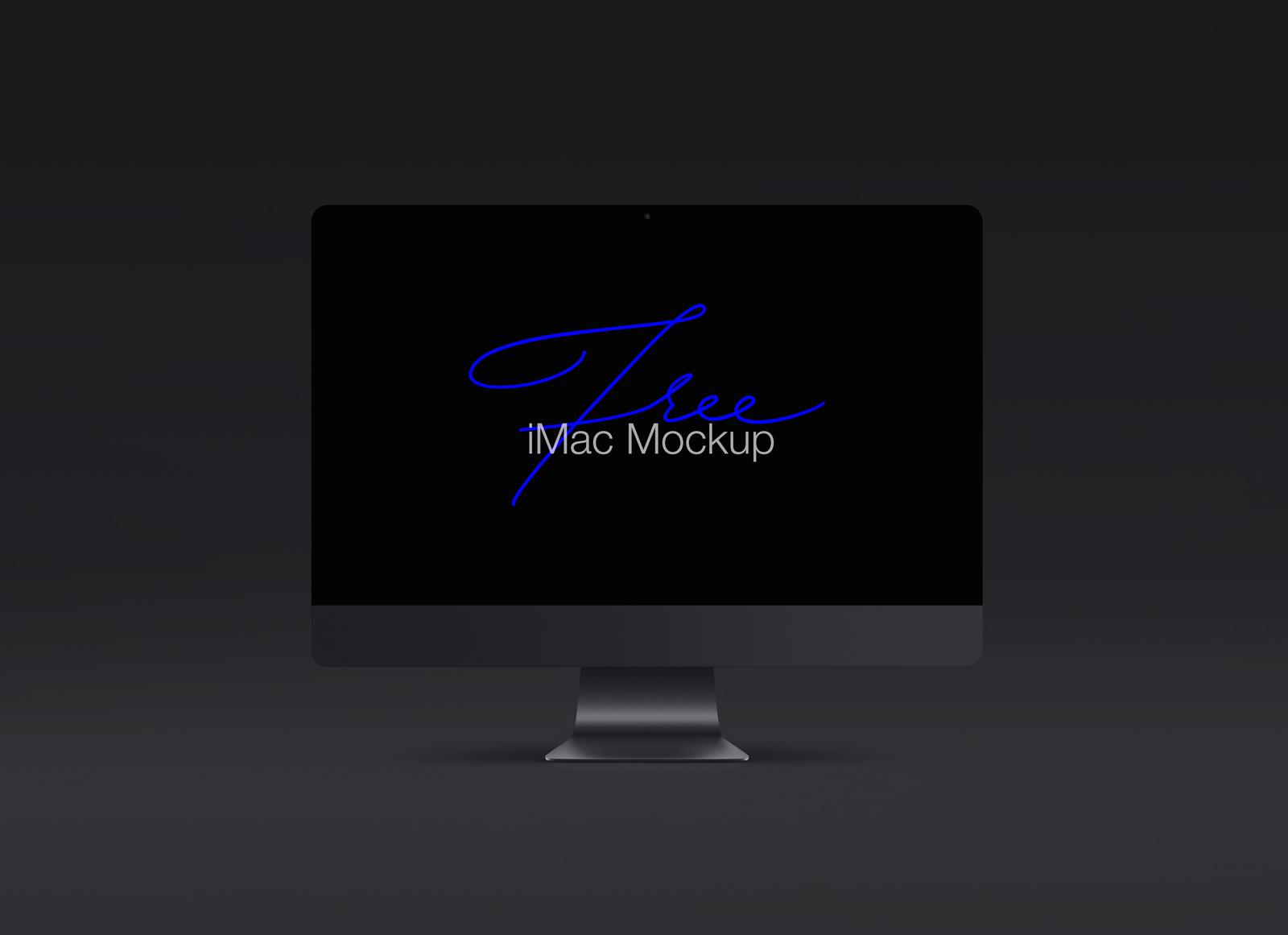 Free Black Apple Imac Pro Mockup Psd Template Good Mockups