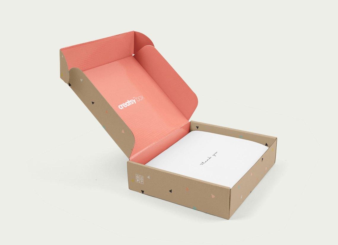 Download Free Mailing Box Packaging Mockup PSD - Good Mockups