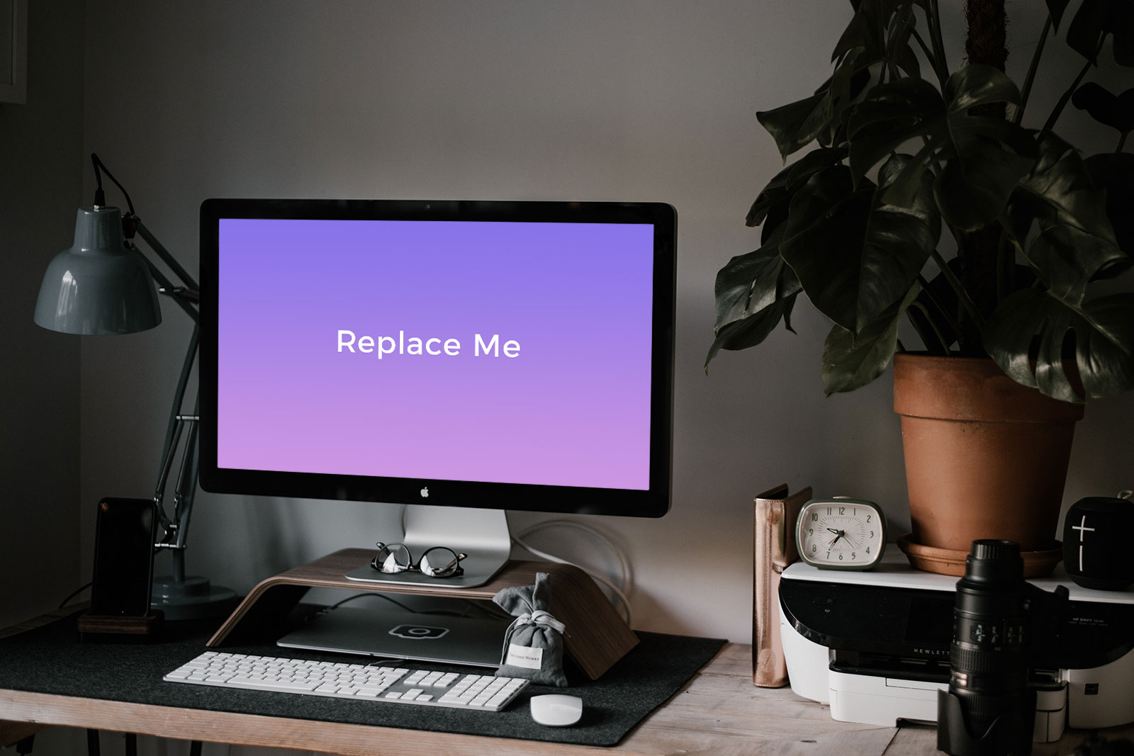 Free Workspace Imac Pro Mockup Psd Good Mockups