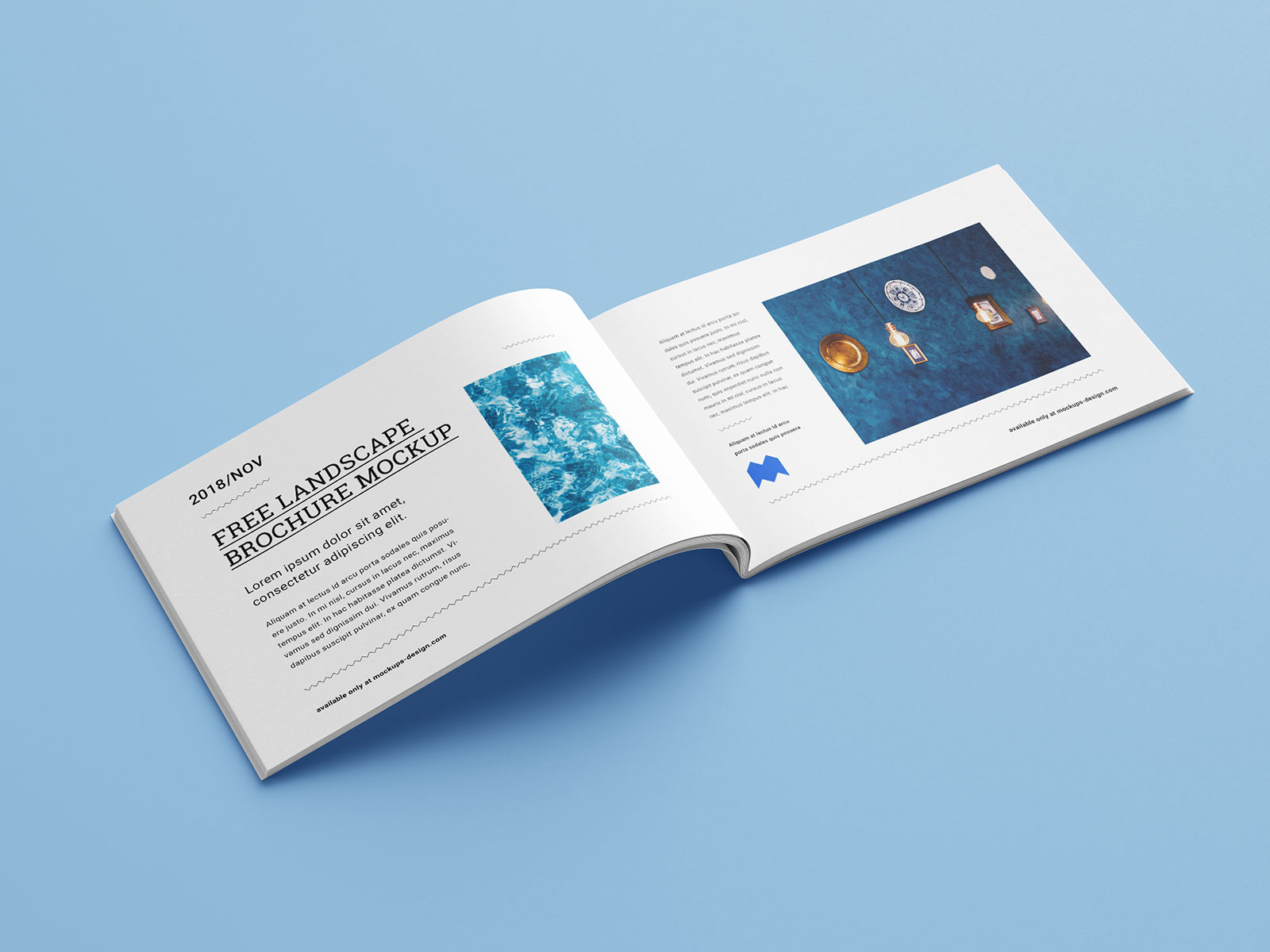 Choicelocal is a digital marketing company located in cleveland, ohio, that exclusively serves franchise systems. Free Landscape Brochure Catalogue Mockup Psd Good Mockups