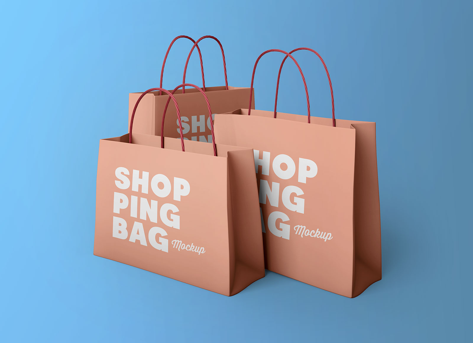 Business promotions can be done in countless ways. Free Multiple Sizes Paper Shopping Bags Mockup Psd Good Mockups