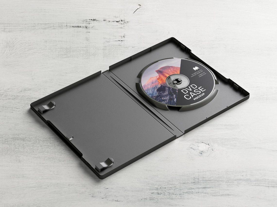 Download Free DVD Box Disc Case Mockup PSD Set - Good Mockups